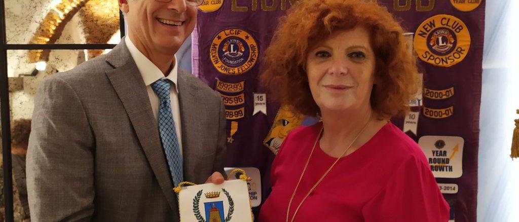 Luigi Gallo e Valentina Perna - Lions Club Alassio