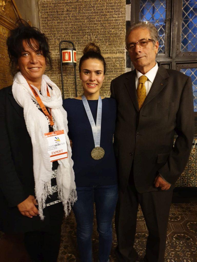 Medaglia argeto Confartigianato Savona a Worldskills 2019 03