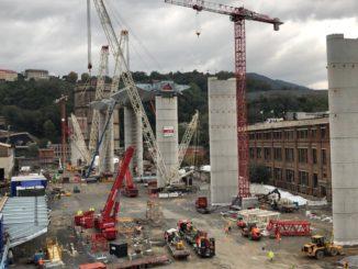 Costruzione nuovo ponte di Genova