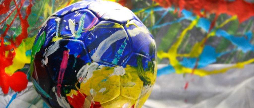 Un pallone variopinto