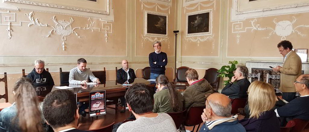 Presentazione ad Albenga Rally storico dei monti savonesi