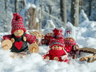 Pupazzi artigianali natalizi