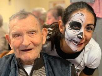La festa di Halloween alla RSA di Alassio