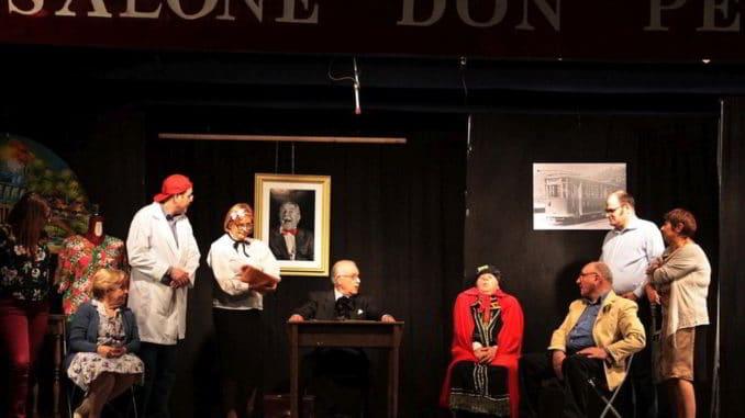 Spettacolo teatrale ad Albenga al Salone Don Pelle di San Giorgio