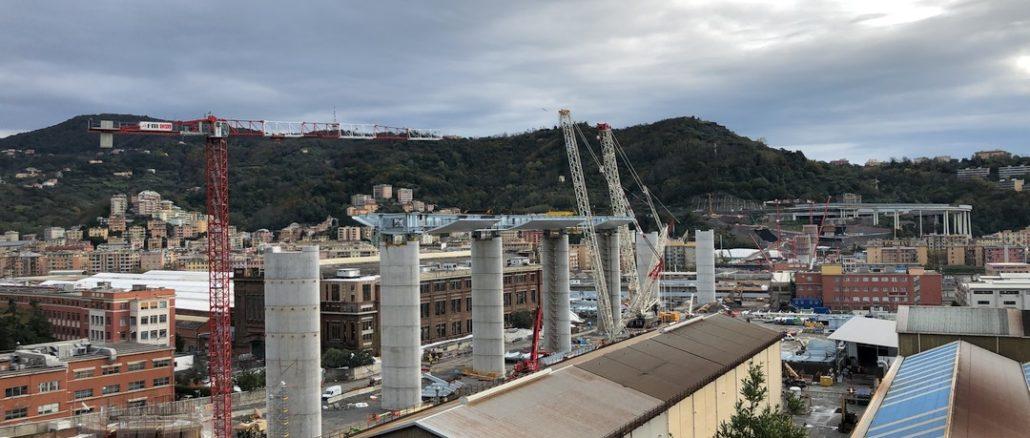 Terzo impalcato nuovo Ponte Genova