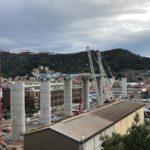 Varato il terzo impalcato del nuovo ponte di Genova