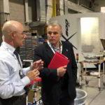 """Visita a Piaggio Aerospace, Benveduti: """"tempi brevi e politica industriale nazionale"""""""