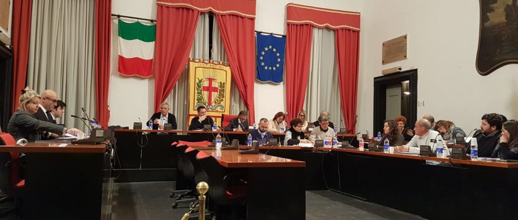 Assemblea del Consiglio comunale di Albenga