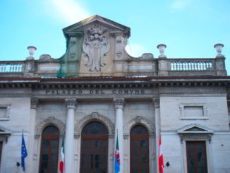 facciata Palazzo del Comune di Savona