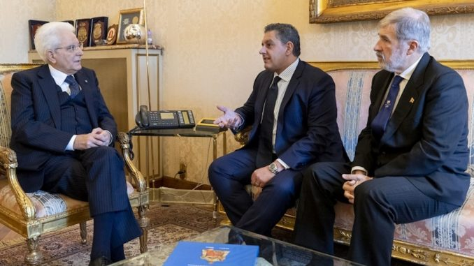 Incotro a Genova tra Presidente Mattarella, Toti e Bucci