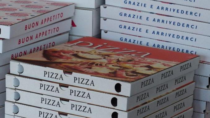 pizza grazie e arrivederci