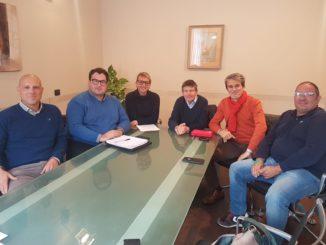 Tavolo verde ad Albenga