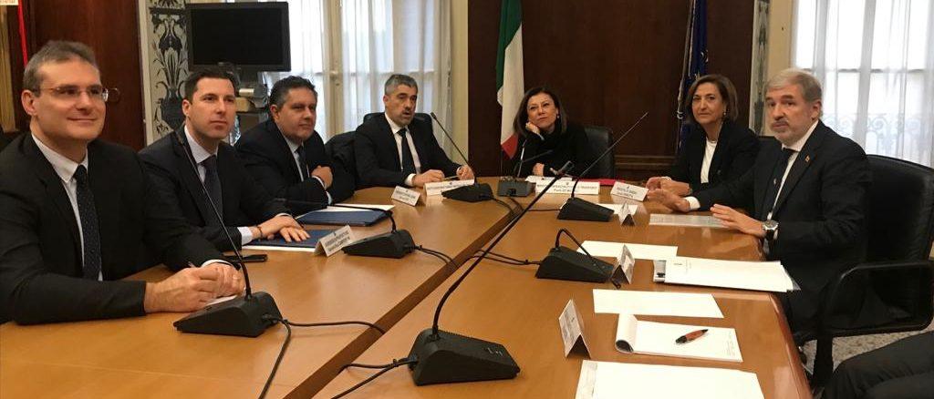 incontro Ministro De Micheli e Istituzioni liguri
