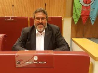 Angelo Vaccarezza in Consiglio Regione Liguria