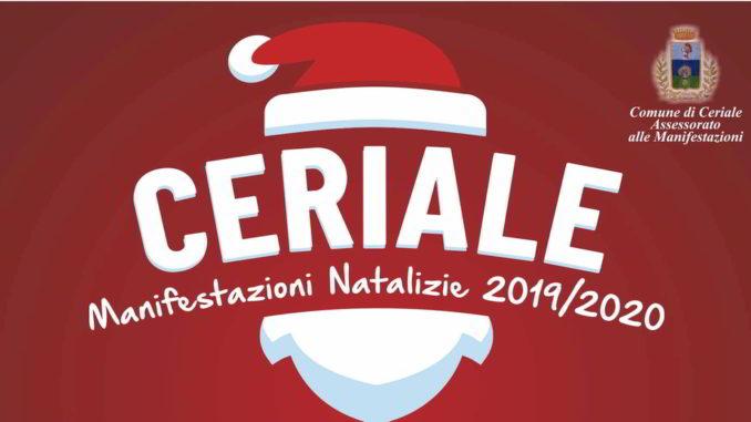 Ceriale manifestazioni feste Natale 2019-2020