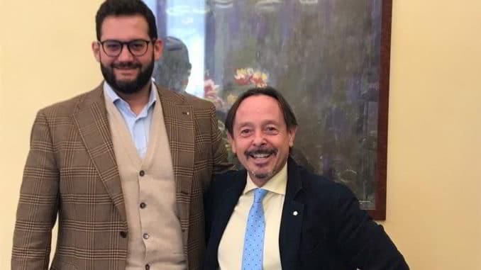 Alessandro Colonna e Roberto Pirino,