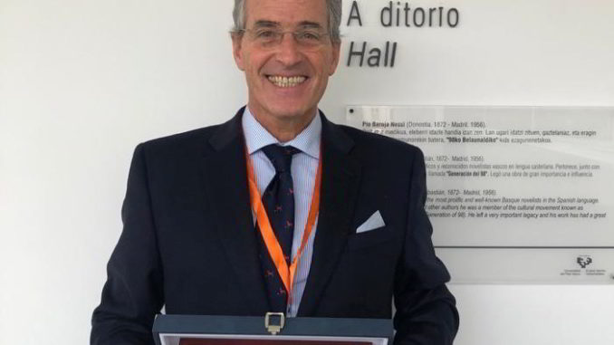 per Carlo Dufour a Bilbao l'International merit Award