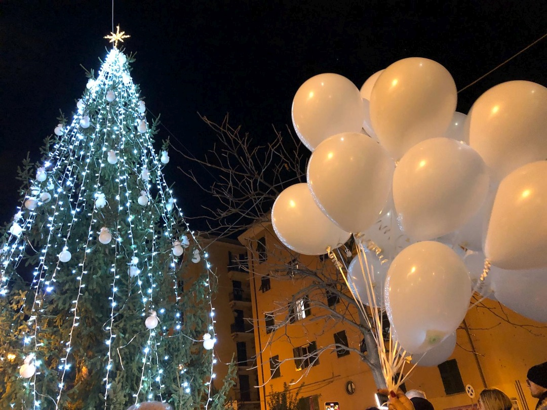 GEnova accensione Albero Natale a Certosa 01