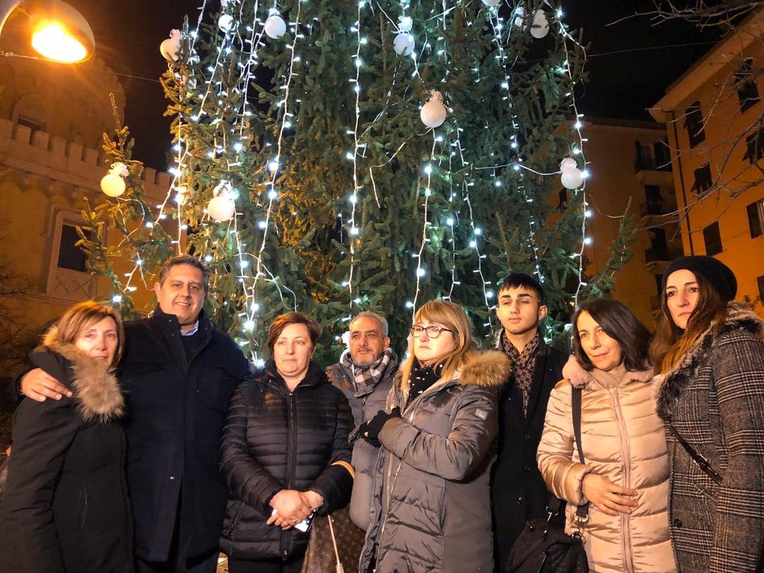 GEnova accensione Albero Natale a Certosa 02