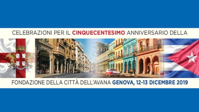 Celebrazione Genova Avana Cuba