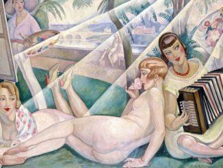 opera di Gerda Wegener un giorno di estate
