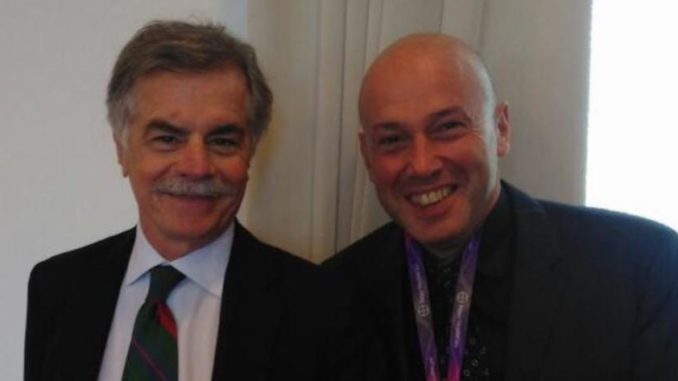 Il Dott. Pietro Bellone con il Dott. Paolo Bellotti