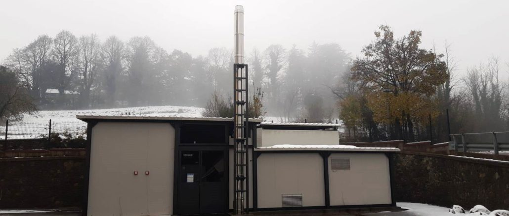 Impianto a biomasse Sassello