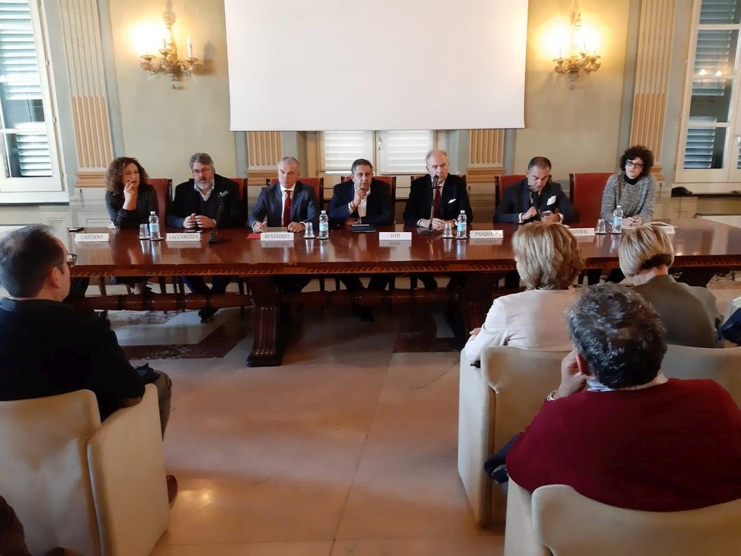 Incontro a Palazzo Lamba Doria Savona danni maltempo 03