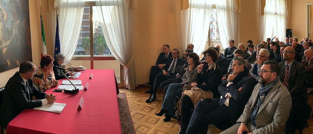 Incontro prefettura a Savona ministro Teresa Bellanova