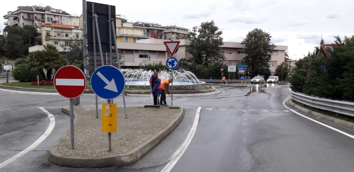 La rotonda di via Gastaldi ad Alassio 02