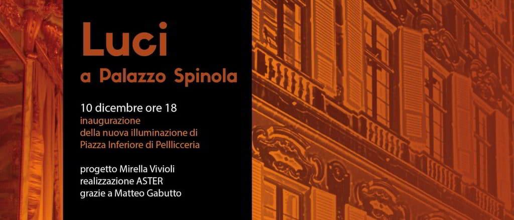 Luci a Palazzo Spinola