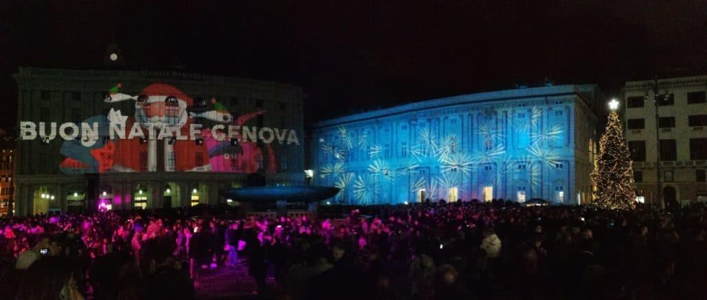 Buon Natale Genova Piazza De Ferrari