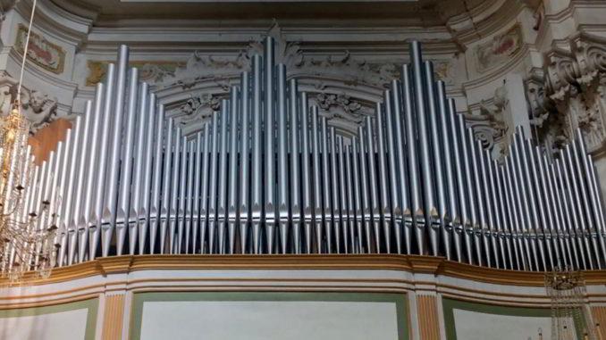 Organo di Laigueglia in San Matteo