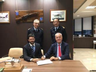 Firma accordo Piaggio Aerospace