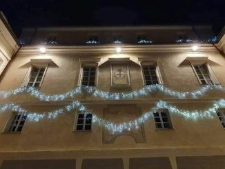 Palazzo Tagliaferro natalizio ad Andora