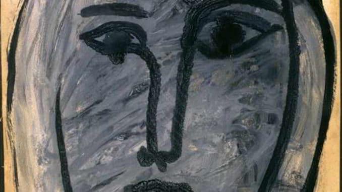 Particolare ritratto di Milena Milani di Picasso