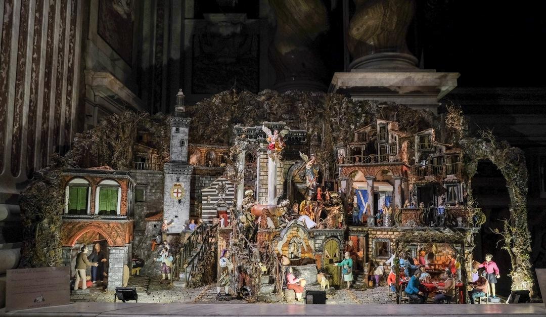 Presepe di SantEdgidio Annunziata di Genova 10