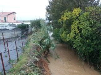 Rio carenda argine ad Albenga