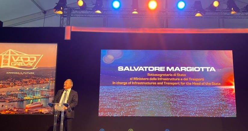 Salvatore Margiotta inaugurazione Vado GAteway
