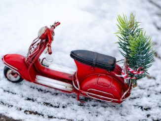 Vespa natalizia