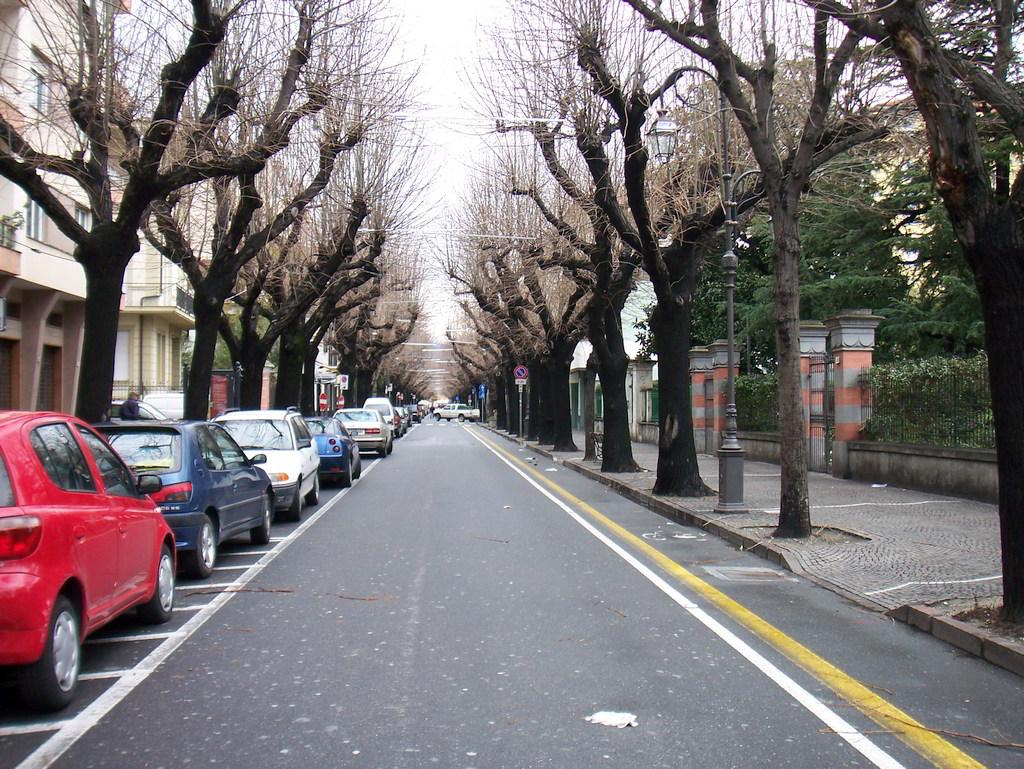 Viale Martiri ad Albenga