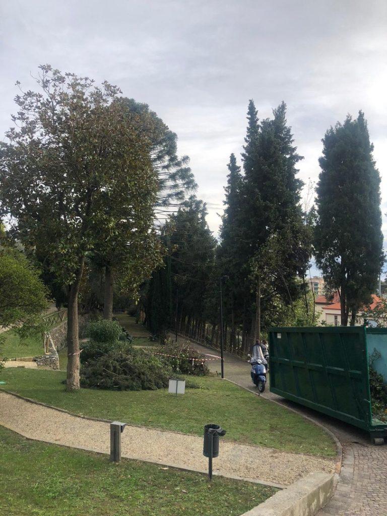 Villa Fiske lavori ad Alassio 01
