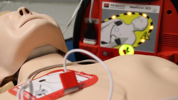 defibrillatore esercitazione
