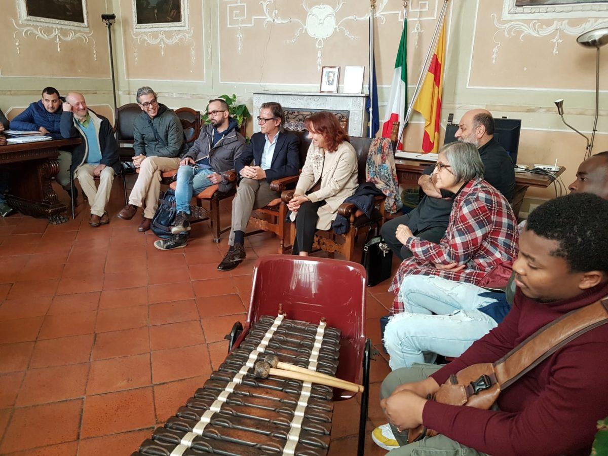 incontro migrantes in Comune di Albenga 01