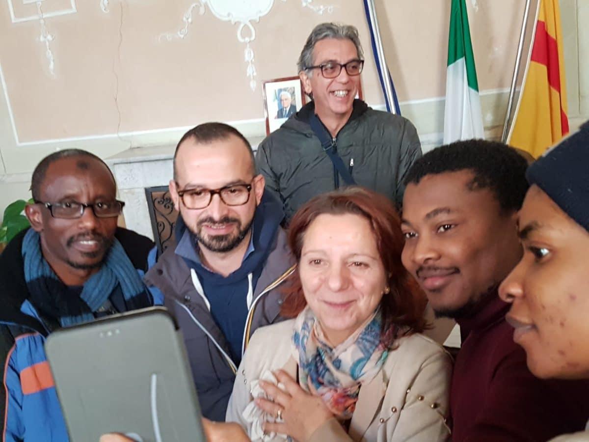 incontro migrantes in Comune di Albenga 03