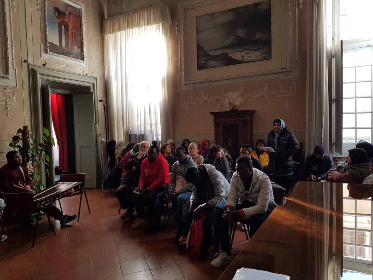 incontro migrantes in Comune di Albenga 05