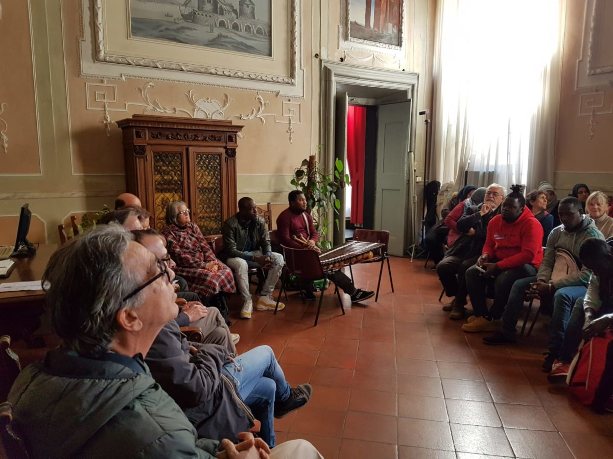 incontro migrantes in Comune di Albenga 07