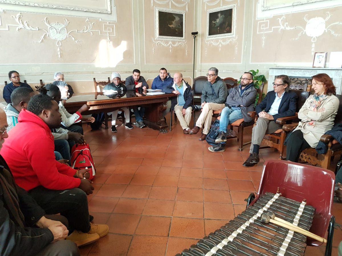 incontro migrantes in Comune di Albenga 08