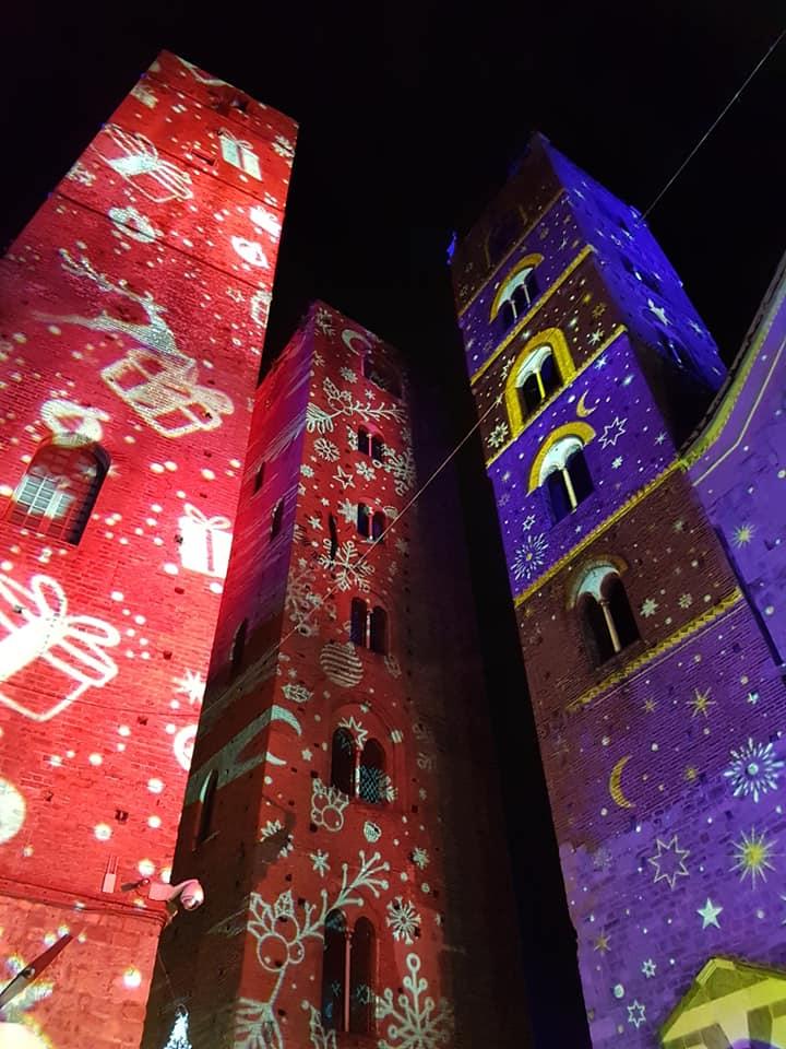 proiezioni luminose ad Albenga 01