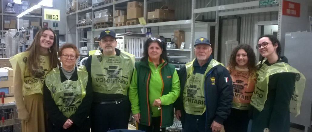 volontari Banco alimentare
